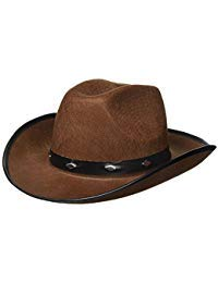 Kangaroo Brown Studded Cowboy Hat ()