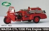 EBRRO 1/43 Mazda CYL/1200 Fire engine ROT 1950 (japan import)
