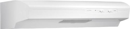 Broan QSE130WW Energy Star Qualified Under-Cabinet Range Hood, 30-Inch, White by Broan