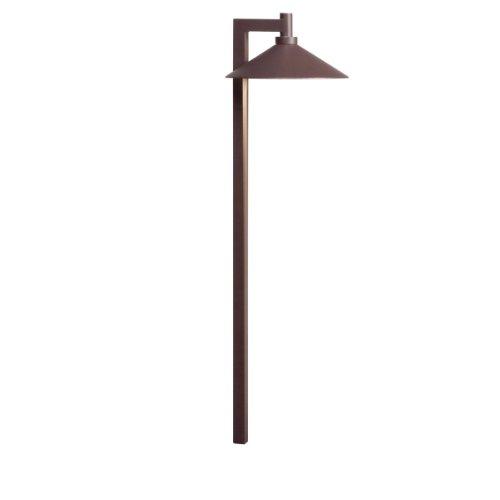 Kichler Lighting 15800AZT27 Ripley 4W 2700K Design Pro LED 12V Path & Spread Landscape Fixture, Textured Architectural Bronze (Textured Architectural Bronze Line)
