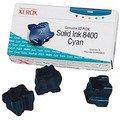 Genuine Xerox 108R00605 (108R605) Cyan Solid Ink Colorstix 3-Pack