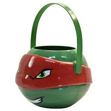 Rafael figural plastic haloween/easter basket apx 8 in x 7 in. plus handle for $<!--$11.95-->