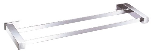 24' Towel Bar Brushed Brass - Danze D446133 Sirius Double Towel Bar, 24-Inch, Chrome