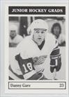 Danny Gare (Hockey Card) 1984-85 Kelowna Wings Junior Hockey Grads - [Base] - Wings Junior