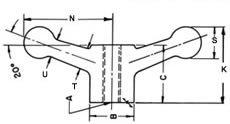 Monroe Hardware - HBD-125 - Double Ball Handle - 1/2'' Ream