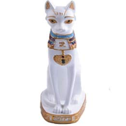 - Animal - Cat Statue Ornament Egyptian Cat Figurine Statue Decoration Vintage Cat Goddess Bastet Statue Home Garden - by GTIN - 1 Pcs - Cat Goddess Statue - Cat Statue