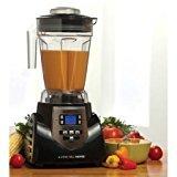 Cheap HealthMaster Elite Food Emulsifier, Fruit and Vegetable Blender by Montel Williams-Black & Stainless Steel