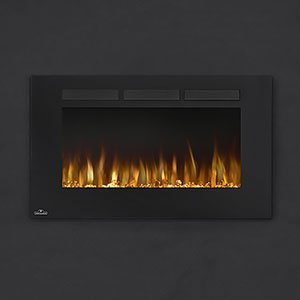 Napoleon NEFL42FH Allure Linear Wall Mount/Built-In Electric Fireplace, 42-inch