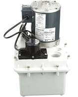 LTP-1 Hartell Laundry Tray Pump, W/2 Gallon Reservoir, 115 Volt, 1/4 HP 1-1/2
