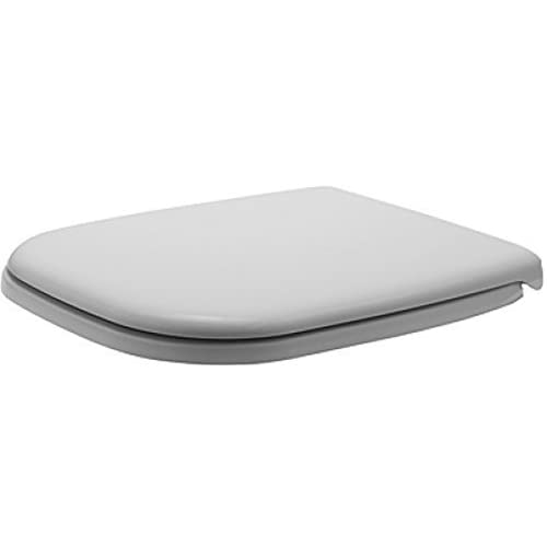 Duravit 0067410000 D-Code Toilet Seat and Cover, Elongated, White Finish by Duravit 60%OFF