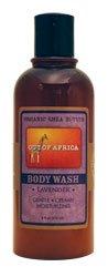 Out Of Africa Organic Shea Butter Body Wash Avec Huile Essentielle de Lavande 9 oz