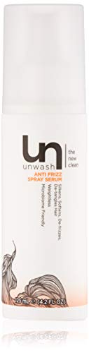 Unwash Anti-Frizz Spray Serum: Leave-In Hair Conditioning Products to Tame Frizzy Hair - 4.2 Fl Oz