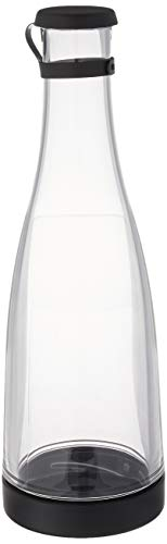 Drinique SRV-CA-CLR-1 Beverage Service Easy Clean Carafe Decanter, 32 oz, Clear ()