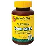 (Nature's Plus - Chewable Love Bites Vit & Min, 180 chewable tablets (3 PACK))