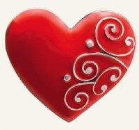 Finders Key Purse Ruby Heart Key