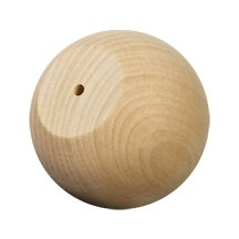 Ball Knob / Wood Doll Head-Bag of 100