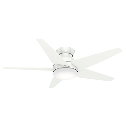Casablanca Fans 59021 Isotope 52 Ceiling Fan, Snow White Fin