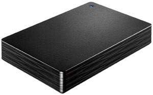 USB3.1 Gen1/2.0対応ポータブルハードディスク「カクうす Lite」 ブラック3TB HDPH-UT3DKRds-2249291ata