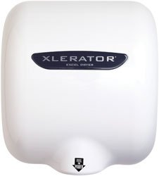 Xlerator Thermoset Resin (BMC) High Volume Automatic Sensor Surface Mounted Hand Dryer 120 Volt
