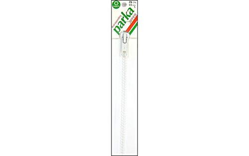 (Coats Thread & Zippers F4426-WHT Sport Parka Dual Separating Zipper, 26