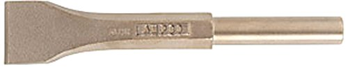 Ampco Safety Tools CP-21-ST Chisel with Pneumatic Scaling, Non-Sparking, Non-Magnetic, Corrosion Resistant, 1-3/4''