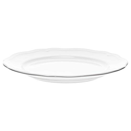 Side Top Table Four - IKEA 401.878.64 Arv Side Plate, White