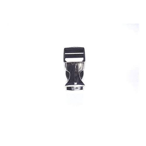 100個セット NIFCO ニフコ ZSR20NKL 金属 バックル メタリックシルバー 20mm巾用 ベルトの長さ調節などに 100個セット  B07K2R973H