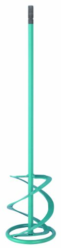 Collomix WK120HF Steel Hexafix Quick Connect Concrete Stirring Paddle, 4.72'' Diameter x 23.23'' Length, For 5 Gallons Mixers by Collomix