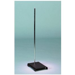 United Scientific SSB6X1 Support Stand with Rod, 11'' Base Length x 6'' Base Width by United Scientific Supplies