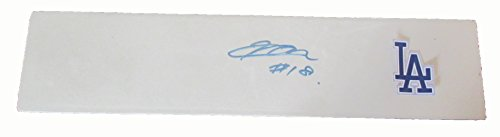 Kenta Maeda Autographed Los Angeles Dodgers Logo Pitching Rubber W/PROOF, Picture of Kenta Signing For Us, Los Angeles Dodgers, 2009 World Baseball Classic, Team Japan, Champions