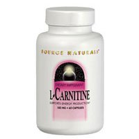 Source Naturals L Carnitine 250mg