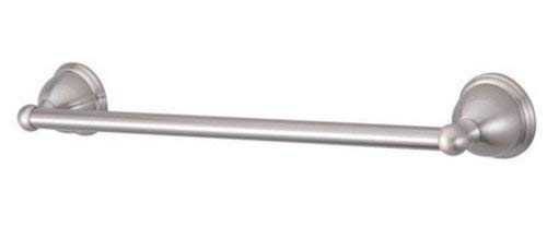 Restoration Wall Mounted Chicago Towel Bar Finish: Satin Nickel, Size: 18