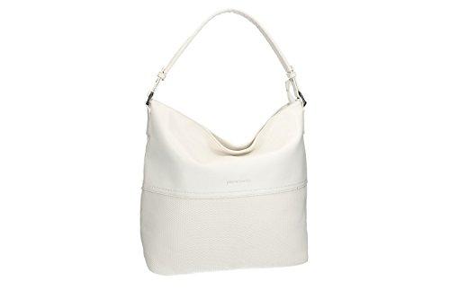 Bolsa mujer hombro PIERRE CARDIN blanco abertura zip VN1284