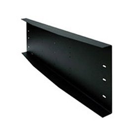 Triple Metal Stud Wall Plate w/ Electrical Knockouts, 16'' Centers, Black by Peerless