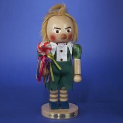 Kurt Adler 14-Inch Limited Edition Steinbach Wizard of Oz Series Lollipop Munchkin Nutcracker