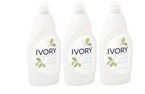 Ivory Ultra Classic Scent Dishwashing Liquid 24 Fl Oz (Pack of 3)