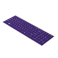Sony Vaio Keyboard Keys - Sony IT VAIO Keyboard Skin for E Series Laptops - Purple (VGP-KBV3/V)