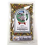 Volkman Seed Small Animal Rat & Mouse Gourmet Healthy Formulated Diet Food 4Lbs. by Small Animal