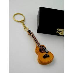 REGALOS LLUNA Llavero Miniatura Musical (Llavero Guitarra ESPAÑOLA)