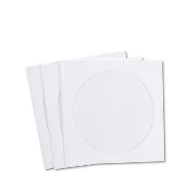 QUALITY PARK PRODUCTS R7050 CD/DVD Sleeves, Tyvek, (Quality Park Products Cd)