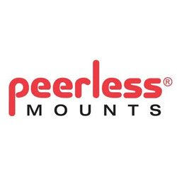 Peerless Industries MOD-FPP2KIT200-B MODULAR DUAL-POLE PEDESTAL MOUNT WITH 2M