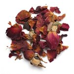 Frontier Bulk Red Rose Petals ORGANIC, Fair Trade Certified_, 1 lb Bulk Bag (a)