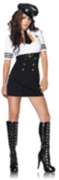 First Class Captain Adult Costume - -