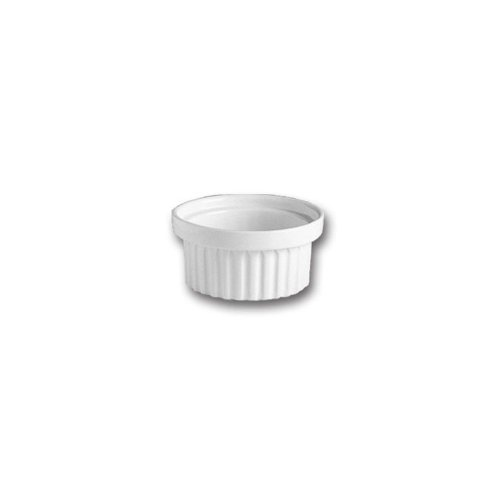 Hall China 1150AWHA White 4 Oz. Stacking Ramekin - 24 / CS