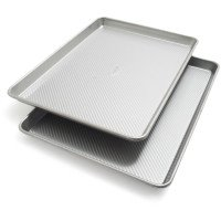 Sur La Table Platinum Professional Half Sheet Pans 21320ST, 17.25'' x 12.25'', Set of 2 by Sur La Table (Image #2)