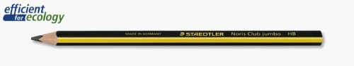 Staedtler Noris 119 Triplus Jumbo Triangular Learners Pencil HB - Pack of 6