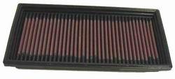 K&N ENGINEERING 33-2087 Air Filter; Panel; H-1.313 in.; L-10.688 in.; W-5.188 in.;