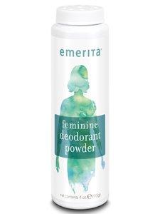 - Feminine Deodorant Powder Fragrance Free Emerita 4 oz Powder