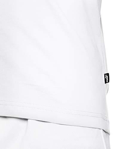Blanc shirt Basic Bold Puma White T Tee puma T Rebel Homme R8qwf