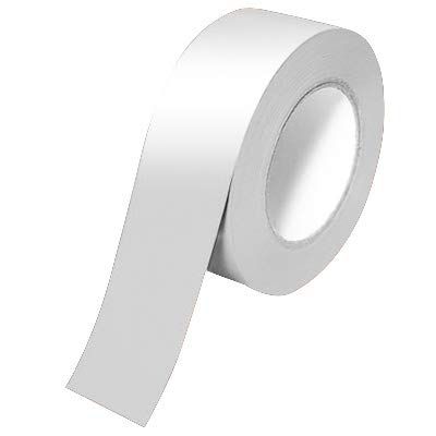 """Tape-1""""X15' Reflective SILVER1 15 White Roll of 15 Feet"""
